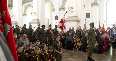 3 maja w Zamościu -msza za Ojczyznę w 228. rocznicę uchwalenia Konstytucji