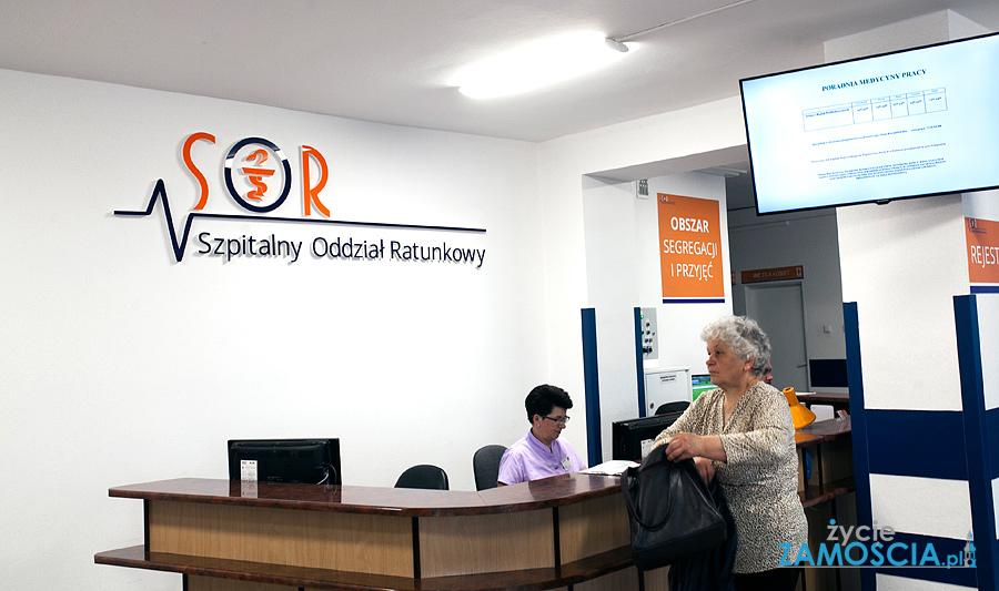 Zmodernizowany SOR oficjalnie otwarty