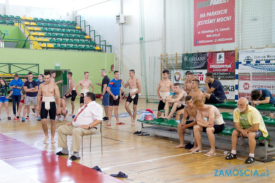 Mistrzostwa Polski juniorek i juniorów w sumo w Zamościu