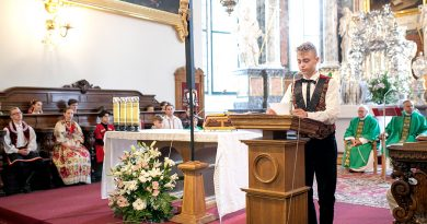 Eurofolk 2019 – Msza św. w Katedrze Zamojskiej