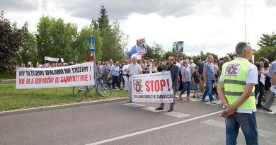 NIE DLA SPALARNI – akcja protestacyjna wyszła na ulicę