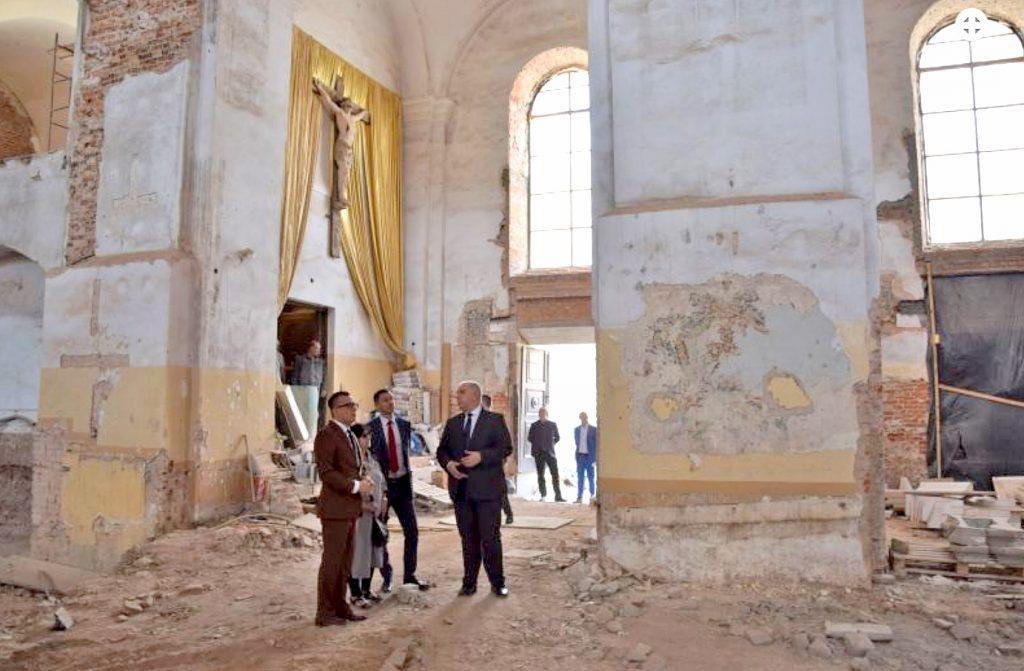 Wicepremier Jacek Sasin z wizytą w Zamościu