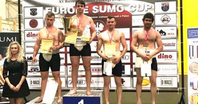 Zamojscy sumici z medalami Pucharu Europy