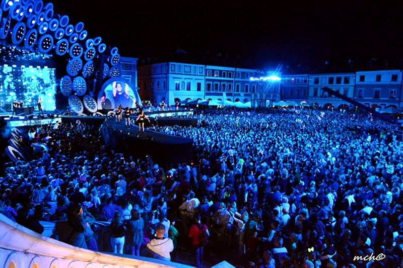 Tłumy na koncercie Dwójki