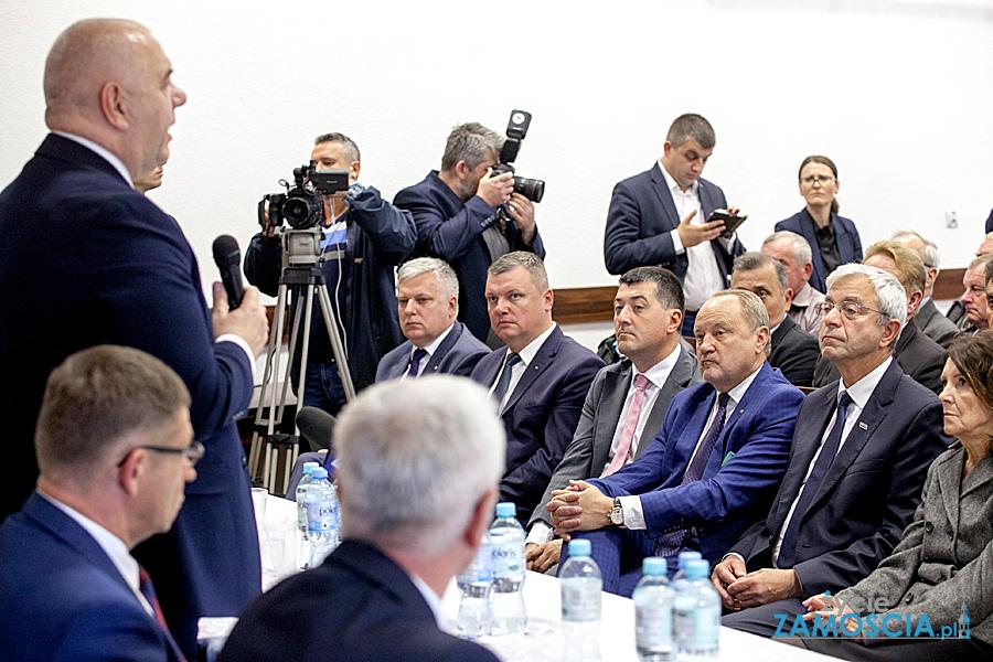 Ministrowie w Łabuniach