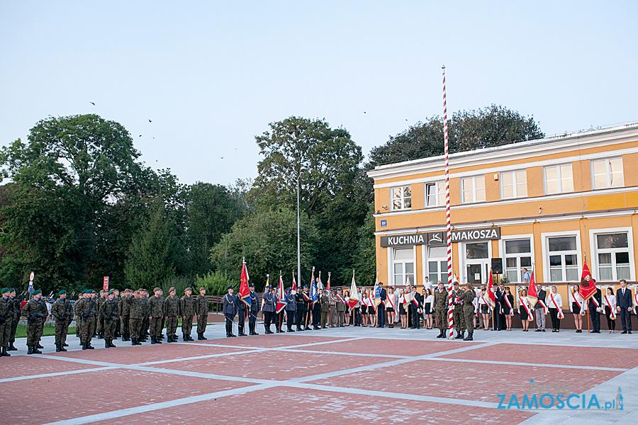 80. rocznica napaści Niemiec  na Polskę – uroczystości w Zamościu