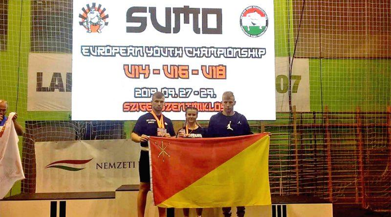 """""""Tylko"""" pięć medali na Mistrzostwach Europy w sumo"""