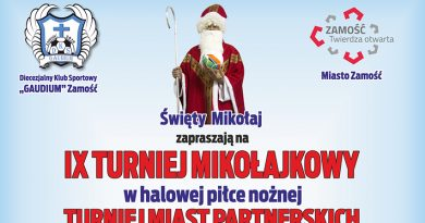 Nadchodzi IX Turniej Mikołajkowy