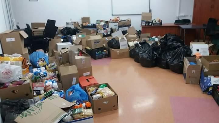 Ponad 2,5 tony artykułów na Świątecznej Zbiórce Żywności