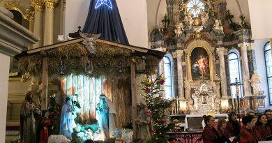 Szopki w zamojskich kościołach