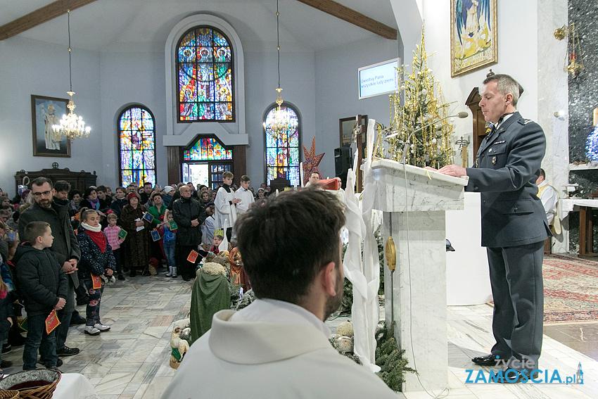 Msza św. w kościele pw. św. Michała Archanioła poprzedzająca zamojski Orszak Trzech Króli