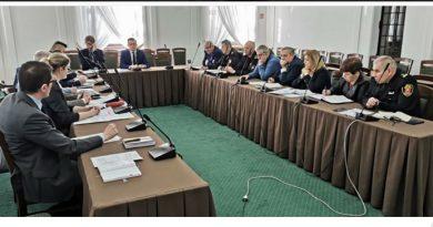 Posiedzenie Miejskiego Zespołu Zarządzania Kryzysowego