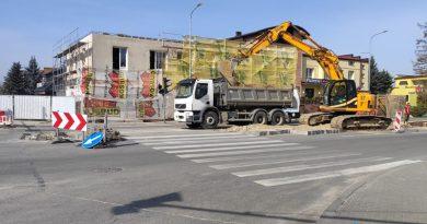 Trwa przebudowa Lubelskiej – już ruszyły prace na skrzyżowaniu