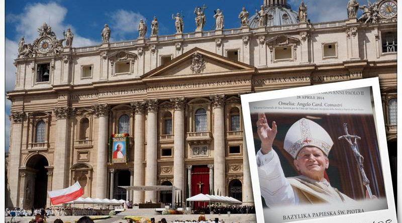Rocznica Kanonizacji Jana XXIII i Jana Pawła II