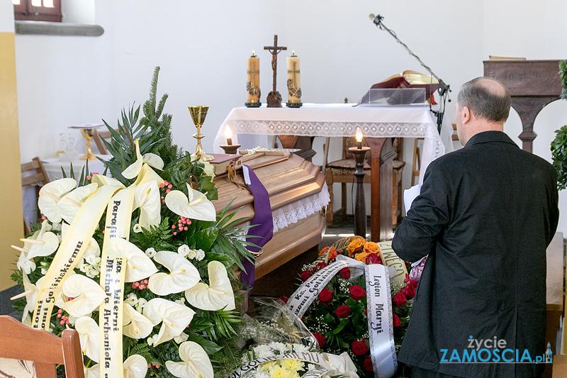 Ostatnie pożegnanie ks. Prałata Eugeniusza Golińskiego