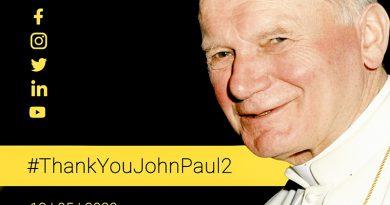 Rozpoczęła się inicjatywa #ThankYouJohnPaul2.