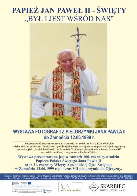 Fotograficzne wspomnienia z wizyty Jana Pawła II w Zamościu