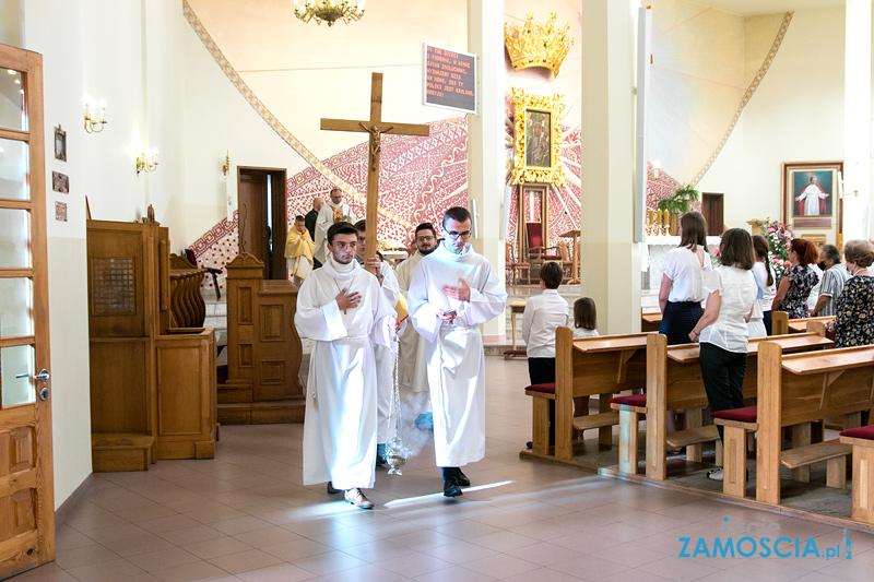 Relikwie Jan Pawła II w Zamościu