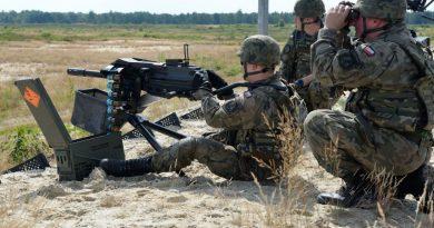 Lubelscy Terytorialsi na szkoleniu poligonowym