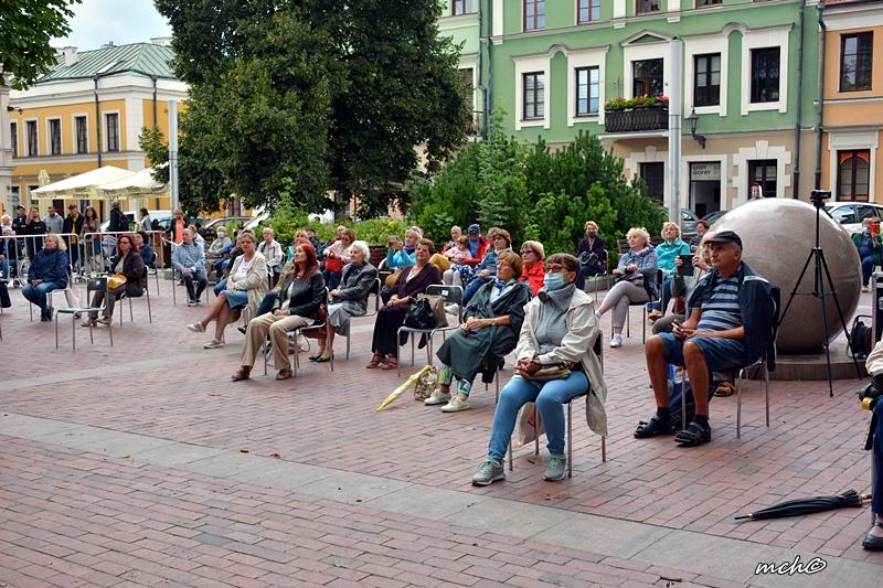 Koncert promenadowy sekcji dętej Orkiestry