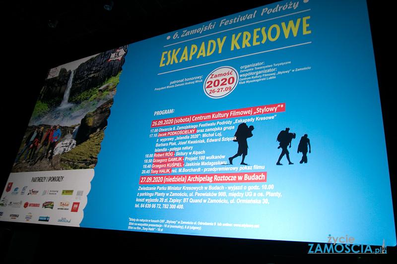 """6 Zamojski Festiwal Podróży """"Eskadady Kresowe"""""""