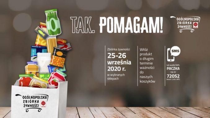 TAK, POMAGAM! – XVIII Zbiórka Żywności Caritas