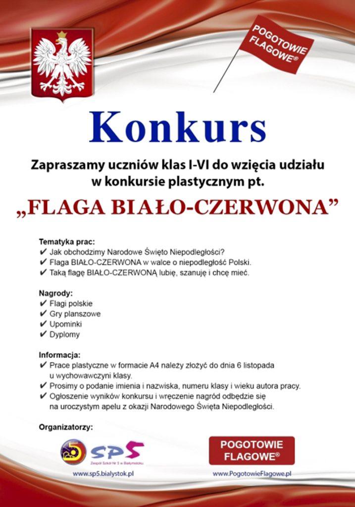 """Konkurs """"BIAŁO-CZERWONA"""" z okazji Narodowego Święta Niepodległości 11 listopada! 🇵🇱"""