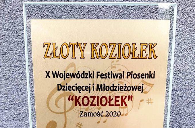"""Festiwal Piosenki Dziecięcej i Młodzieżowej """"Koziołek"""" 2020 – wyniki konkursu"""