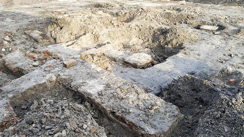 Odkrycia na Placu Stefanidesa w Zamościu