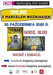 Spotkanie ONLINE z Marcelem Woźniakiem