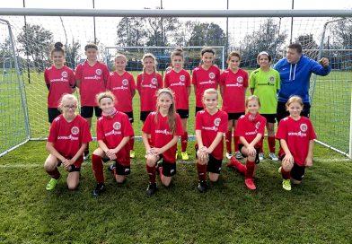 Awans młodych piłkarek UKP Suchowiczteam