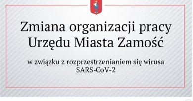 Komunikat Urzędu Miasta Zamość