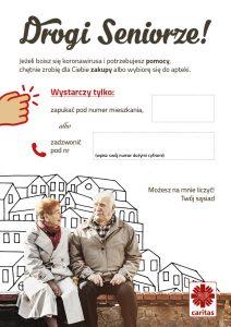 Caritas apeluje: chrońmy seniorów