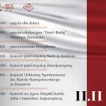 102. Rocznica Odzyskania przez Polskę Niepodległości - Cykl wydarzeń on-line