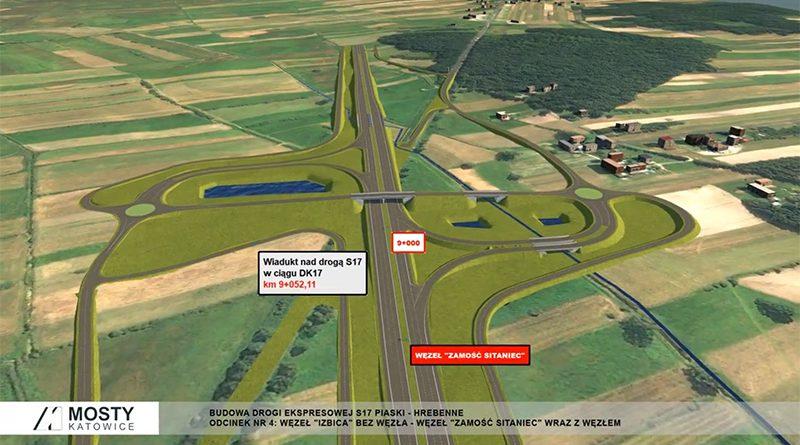 Składanie wniosków ws. budowy drogi S17 Piaski – Hrebenne