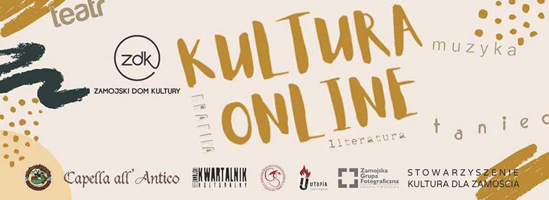 ZDK i Muzeum Zamojskie przenoszą swoje działania do przestrzeni wirtualnej