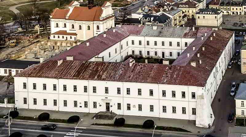 Rewitalizacja historycznego obiektu Akademii Zamojskiej w Zamościu cd.
