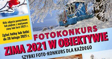 Zimowy foto-konkurs Gminnego Ośrodka Kultury