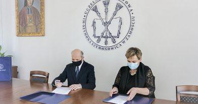 Umowa o współpracy Uczelni z ZS nr 2