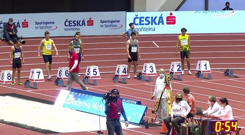 Drugie miejsce Dominika Kopeć w Mityng Czech Indoor Gala