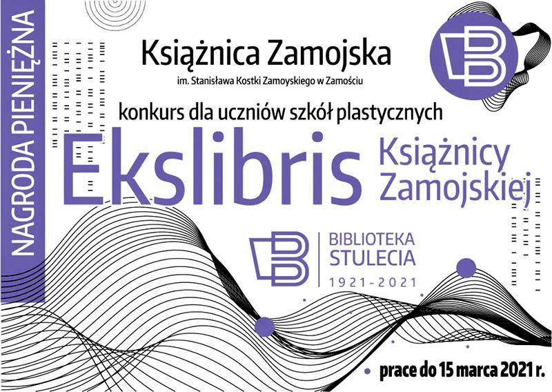 Zaprojektuj EKSLIBRIS, zgarnij nagrodę
