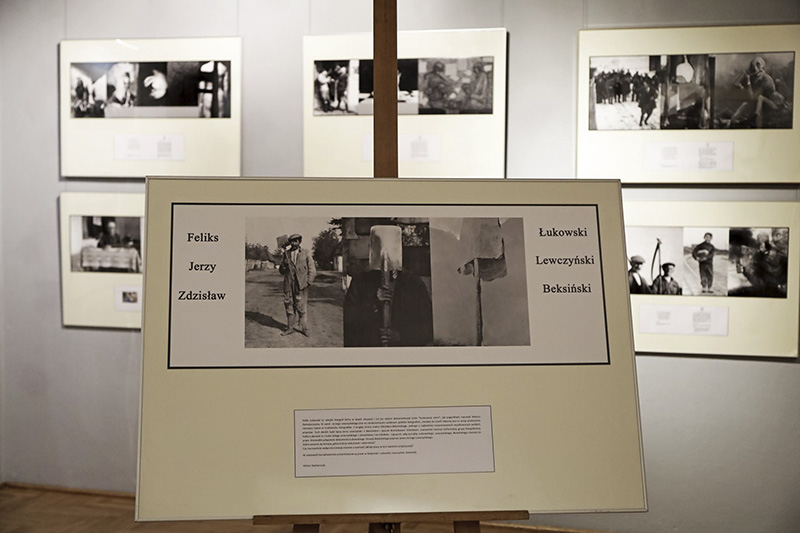 """Nowa wystawa fotografii """"Od dokumentacji do kreacji. Łukowski, Lewczyński, Beksiński …"""