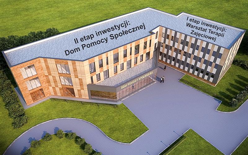 Podpisano  umowę na wybudowanie Domu Pomocy Społecznej przy ul. Kresowej 24