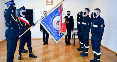 Nowi strażacy w Jednostce Ratowniczo – Gaśniczej w Zamościu
