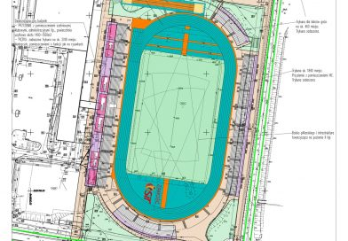 Pomysł na nowe oblicze areny sportowej przy ul. Królowej Jadwigi 8