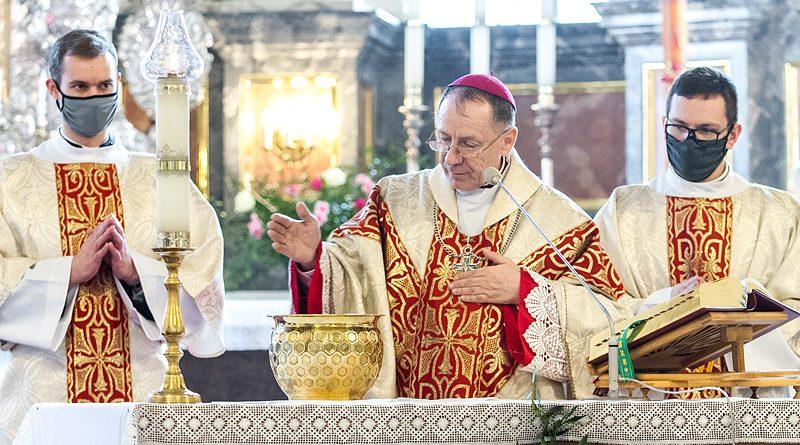 Wielki Czwartek – Msza Krzyżma w Katedrze w Zamościu