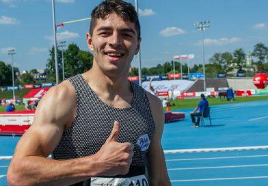 Dominik Kopeć najlepszy na dystansie 100 metrów