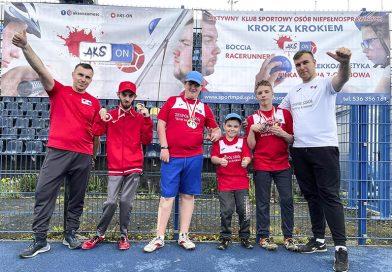 Sukces AKSON na Mistrzostwach Polski seniorów w Para lekkoatletyce