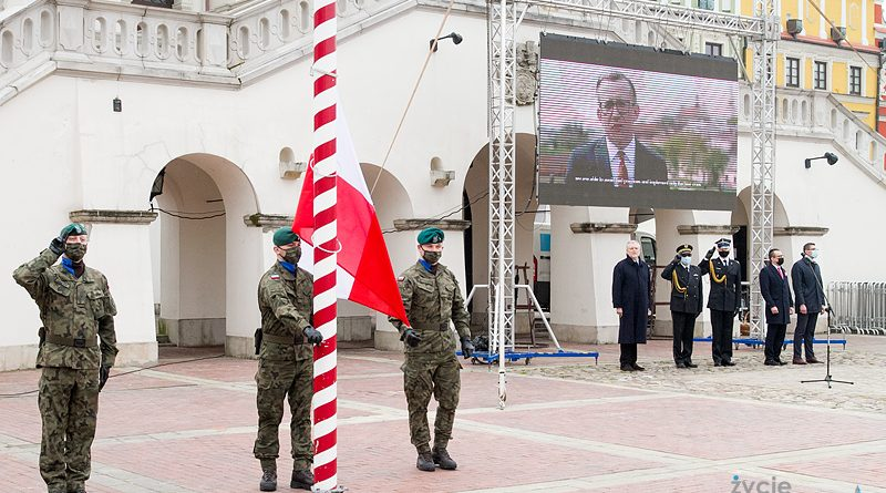 Zamość – Dzień Flagi Rzeczypospolitej Polskiej