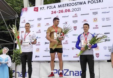 Złoto na Mistrzostwach Polski Dominika Kopcia